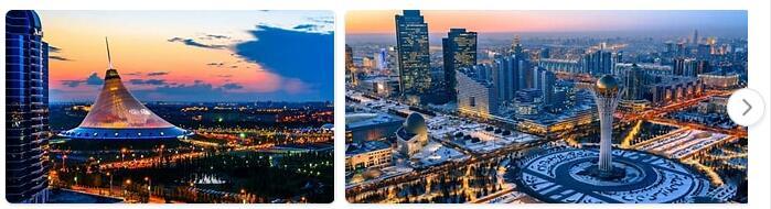 Major Landmarks in Kazakhstan