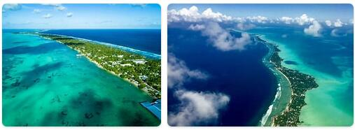 Major Landmarks in Kiribati