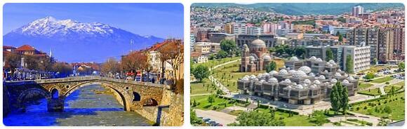 Major Landmarks in Kosovo