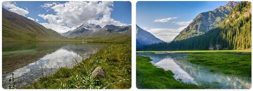 Major Landmarks in Kyrgyzstan