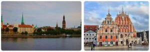 Major Landmarks in Latvia