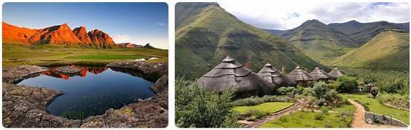 Major Landmarks in Lesotho
