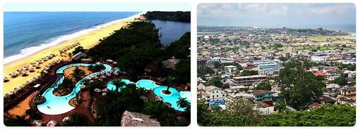 Major Landmarks in Liberia