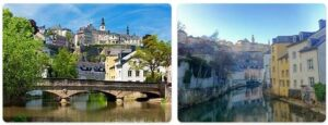 Major Landmarks in Luxembourg