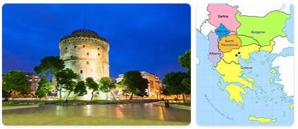 Major Landmarks in Macedonia
