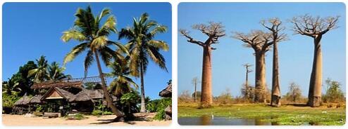 Major Landmarks in Madagascar