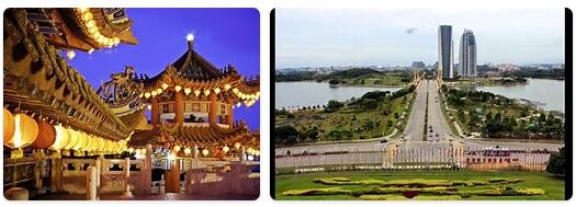 Major Landmarks in Malaysia