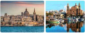 Major Landmarks in Malta
