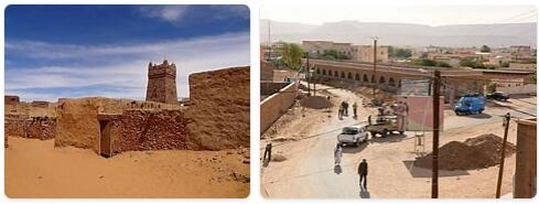 Major Landmarks in Mauritania
