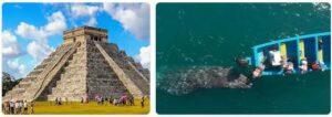 Major Landmarks in Mexico