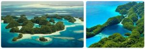 Major Landmarks in Micronesia