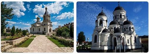 Major Landmarks in Moldova