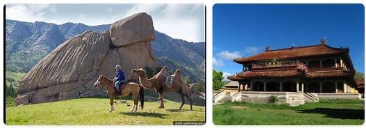 Major Landmarks in Mongolia