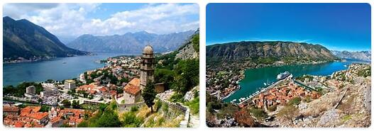 Major Landmarks in Montenegro