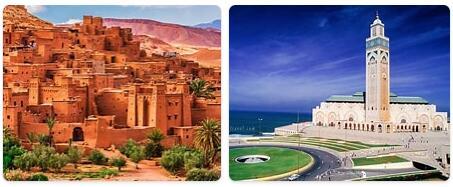 Major Landmarks in Morocco