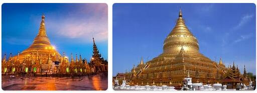 Major Landmarks in Myanmar