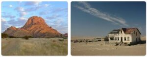 Major Landmarks in Namibia
