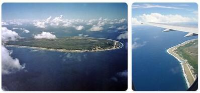 Major Landmarks in Nauru