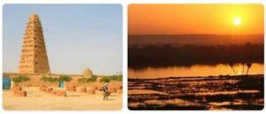 Major Landmarks in Niger