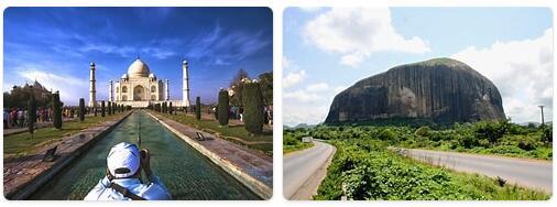 Major Landmarks in Nigeria