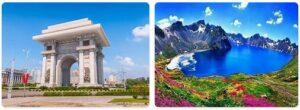 Major Landmarks in North Korea