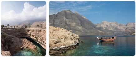 Major Landmarks in Oman