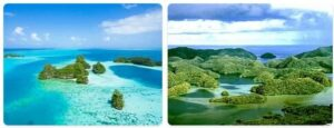 Major Landmarks in Palau