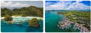 Major Landmarks in Papua New Guinea