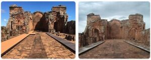 Major Landmarks in Paraguay