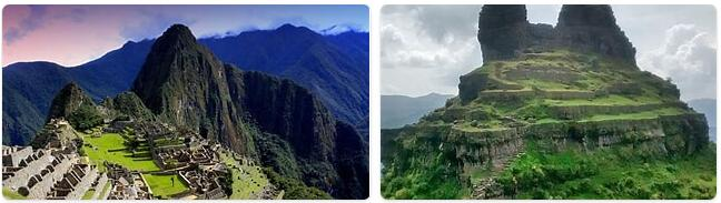 Major Landmarks in Peru