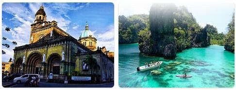 Major Landmarks in Philippines