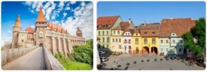 Major Landmarks in Romania