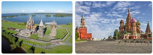 Major Landmarks in Russia