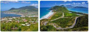 Major Landmarks in Saint Kitts and Nevis