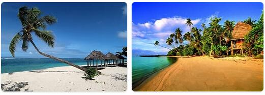 Major Landmarks in Samoa
