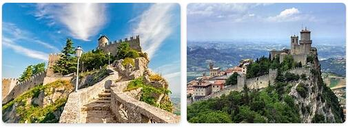Major Landmarks in San Marino