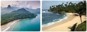 Major Landmarks in Sao Tome and Principe