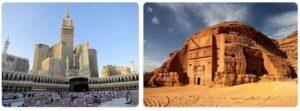 Major Landmarks in Saudi Arabia