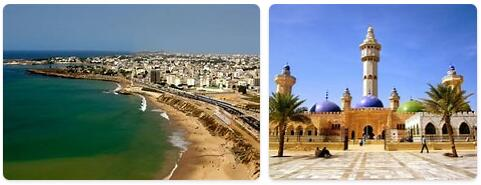 Major Landmarks in Senegal
