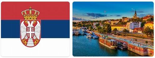 Major Landmarks in Serbia
