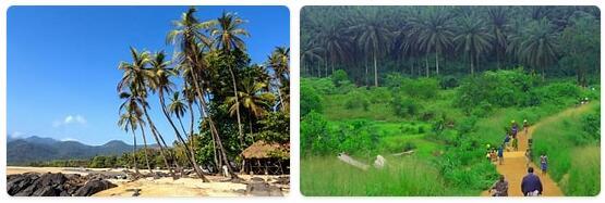 Major Landmarks in Sierra Leone