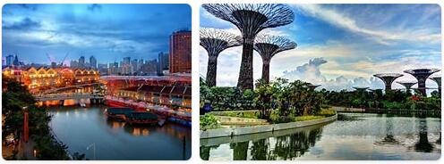 Major Landmarks in Singapore