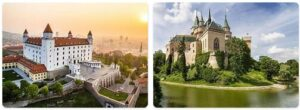 Major Landmarks in Slovakia