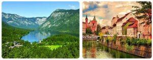 Major Landmarks in Slovenia