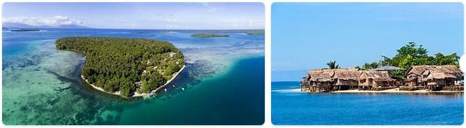 Major Landmarks in Solomon Islands