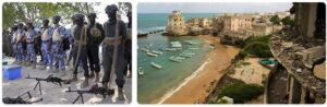 Major Landmarks in Somalia