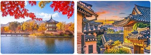 Major Landmarks in South Korea