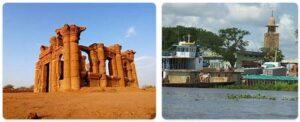 Major Landmarks in South Sudan