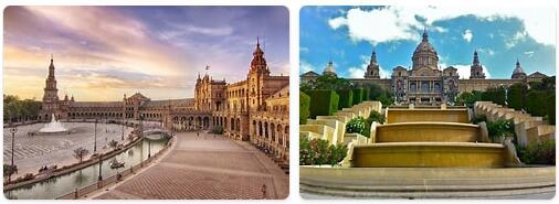 Major Landmarks in Spain