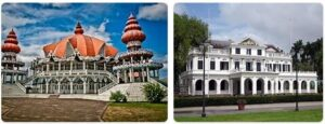 Major Landmarks in Suriname